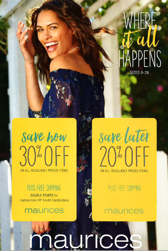 maurices sale